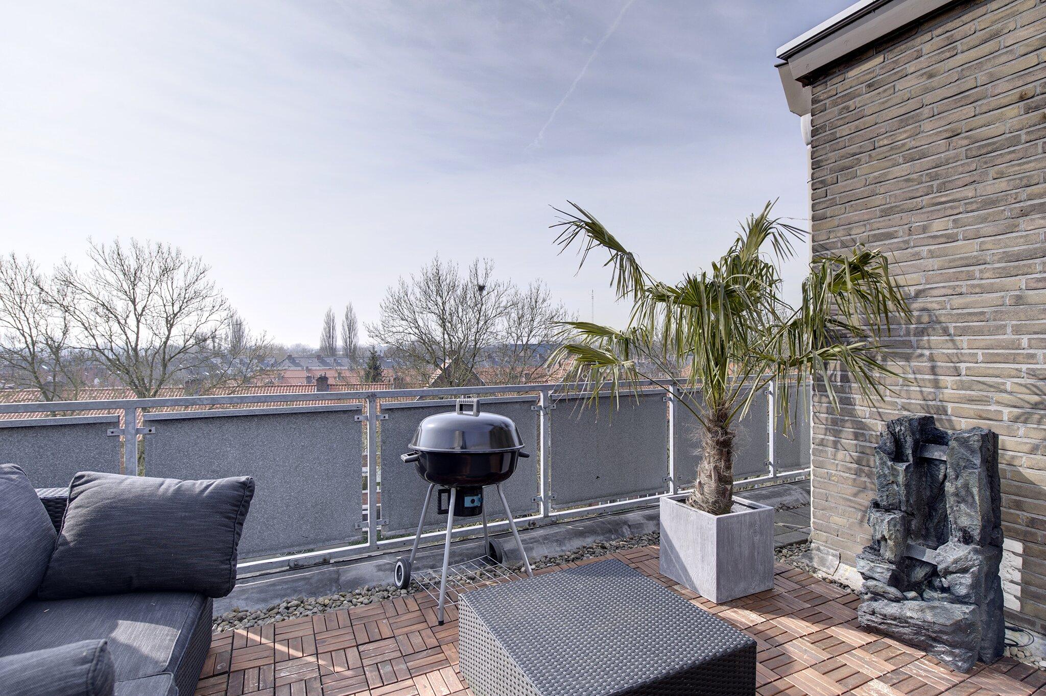 Huis-balkon
