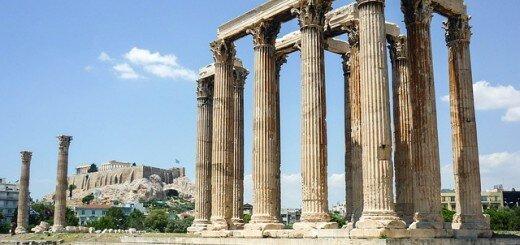Griekenland-tempel